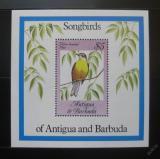 Poštovní známka Antigua 1984 Ptáci Mi# Block 81