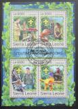 Sierra Leone 2016 Skauti a houby Mi# 7913-16 Kat 11€