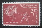 Lucembursko 1961 Schumanův plán Mi# 620