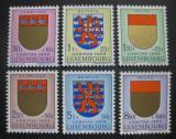 Lucembursko 1959 Erby kantonů Mi# 612-17 Kat 10€