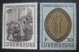 Poštovní známky Lucembursko 1986 Kněžna Ermesinde Mi# 1158-59