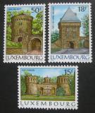 Lucembursko 1986 Pevnosti Mi# 1153-55
