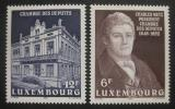 Poštovní známky Lucembursko 1987 Výročí parlamentu Mi# 1183-84