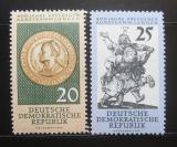 DDR 1960 Drážďanská galerie umění Mi# 791-92