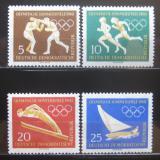 DDR 1960 Olympijské hry Mi# 746-49