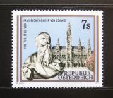 Rakousko 1991 Friedrich Freiherr von Schmidt Mi# 2016