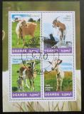 Poštovní známky Uganda 2014 Kozy Mi# 3295-98 Kat 12€