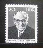 DDR 1965 Otto Grotewohl Mi# 1153