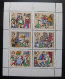 Poštovní známky DDR 1967 Pohádky Mi# 1323-28