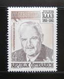 Rakousko 1991 Julius Raab, politik Mi# 2047