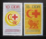 Poštovní známky DDR 1969 Červený kříž Mi# 1466-67