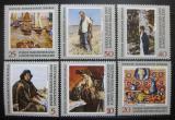 Poštovní známky DDR 1969 Sovětské umění Mi# 1528-33