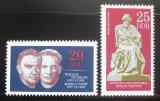 Poštovní známky DDR 1970 Bojovníci proti fašismu Mi# 1603-04