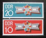 Poštovní známky DDR 1970 Bratři ve zbrani Mi# 1615-16