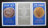 Poštovní známky DDR 1970 Kulturní spolek Mi# 1592-93