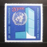 Poštovní známky DDR 1970 Ústředí OSN Mi# 1621