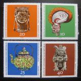 Poštovní známky DDR 1971 Etnologické muzeum Mi# 1632-35