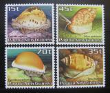 Poštovní známky Papua Nová Guinea 1986 Šneci Mi# 516-19