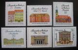 Poštovní známky DDR 1971 Berlínská architektura Mi# 1661-66