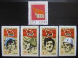 Poštovní známky DDR 1971 Kongres socialistické strany Mi# 1675-79