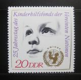 Poštovní známka DDR 1971 Výročí UNICEF Mi# 1690