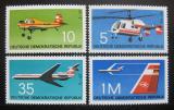 Poštovní známka DDR 1972 Letectví Mi# 1749-52