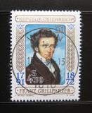 Poštovní známka Rakousko 1991 Franz Grillparzer, básník Mi# 2013