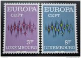 Poštovní známky Lucembursko 1972 Evropa CEPT Mi# 846-47