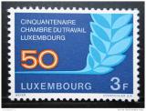 Poštovní známka Lucembursko 1973 Pracovní úřad Mi# 868