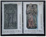 Poštovní známky Lucembursko 1976 Renesanční sochy Mi# 933-34