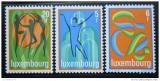 Poštovní známky Lucembursko 1978 Výstava JUPHILEX Mi# 964-66