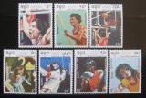 Poštovní známky Guinea-Bissau 1989 LOH Barcelona Mi# 1041-47