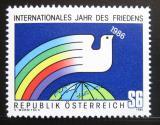 Poštovní známka Rakousko 1986 Mezinárodní rok míru Mi# 1837