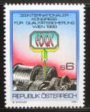 Poštovní známka Rakousko 1989 Kongres EOQC Mi# 1970