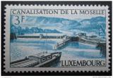 Poštovní známka Lucembursko 1964 Říční systém Mi# 696