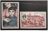 Poštovní známky Lucembursko 1968 Vesničky SOS Mi# 775-76