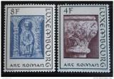 Poštovní známky Lucembursko 1973 Architektura Mi# 866-67