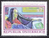Poštovní známka Rakousko 1998 Christine Lavant, spisovatelka Mi# 2256