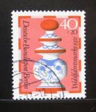 Poštovní známka Západní Berlín 1972 Dáma Mi# 437
