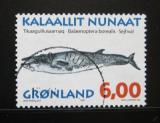 Poštovní známka Grónsko 1997 Balaenoptera borealis Mi# 307