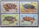 Poštovní známky Anguilla 1983 Želvy 0002 Mi# 541-44 Kat 50€