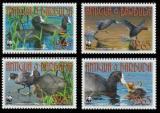 Poštovní známky Antigua 2009 Ptáci, WWF 450 Mi# 4702-05