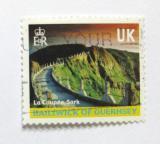 Poštovní známka Guernsey 2001 La Coupée, Sark Mi# 897