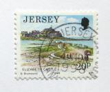 Poštovní známka Jersey 1989 Elizabeth Castle Mi# 475