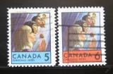 Poštovní známky Kanada 1969 Vánoce Mi# 444-45