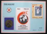 Poštovní známka Paraguay 1989 Červený kříž Mi# Block 457