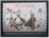 Poštovní známka Polsko 1956 Tanečníci Mi# 977