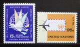 Poštovní známky OSN New York 1964 Letecké Mi# 131-32