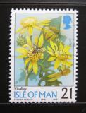 Poštovní známka Ostrov Man 1998 Květiny Mi# 749 I