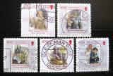Poštovní známky Ostrov Man 2004 Historie Mi# 1143-47